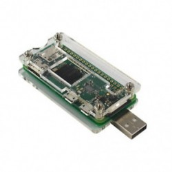 Rossz USB-kiegészítőkártya USB-A csatlakozó átlátszó tokja a Málna Pi Zero K3D0-hoz