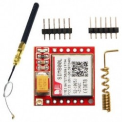 1X (SIM800L GPRS GSM MODUL QUAD BAND rúd-antenna és rugós antenna az Arduin M8W1-hez)