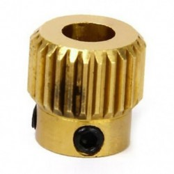 1X (MK 8 extruder fogaskerék 26 fogréz 11 x 11 mm Fa 1/4 r 3D nyomtató H1V5)