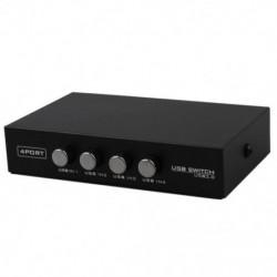 2X (a legújabb Mini 4 portos USB nyomtató szkenner megosztó megosztási kapcsoló Splitter Bo E1E4