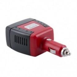 1X (12 V-os és 220 V-os 150 W-os átalakító USB-vel a W2N1 típusú személygépkocsi cigarettagyújtóján)