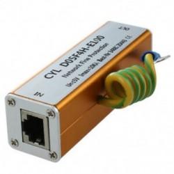 2X (Ethernet LAN RJ-45 RJ45 Túlfeszültségvédő Új elektronikus B9G8)