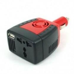2X (12 V-os és 220 V-os 150 W-os átalakító USB-vel a K0P6 személygépkocsi cigarettagyújtóján)