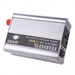 1X (Doxin 500 Watt   USB hordozható feszültségtranszformátor, autóátalakító DC L8P1