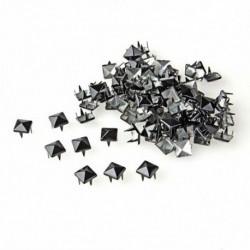 1X (100 X négyzet alakú szegecsekkel alkalmazható, 8 mm-es szegecsekkel, a táska / cipő / kesztyű esetében G6U9)
