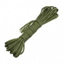10 méter hadsereg játék túlélési nejlon ejtőernyős kötél olíva zöld K9H5