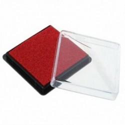 1X (tintasugaras bélyegzőpárna esküvői levélhez piros piros U8L4)