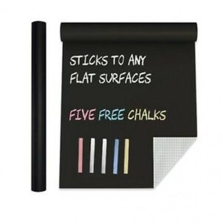 5X (extra nagy Palatábla érintkezőpapír PVC fali matrica poszter (6,5 láb) Bl D6P2