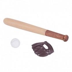 KACAKID 1: 12 Babaház realisztikus bútor Mini baseball ütő és kesztyű Se B7C4