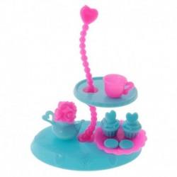 Válogatott Doll kiegészítők Hálószoba bútorok Konyhai étkészlet Dollhouse Sup X6S0