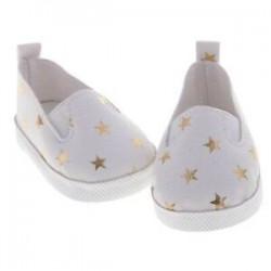 1X (Új alkalmi csillaggal nyomtatott csúsztatható PU bőr cipő 18 hüvelyk méretű Generatum K5S7 készülékhez