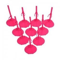 10 X állványtartó állvány Barbie Doll -Rose Red Y4S3-hoz
