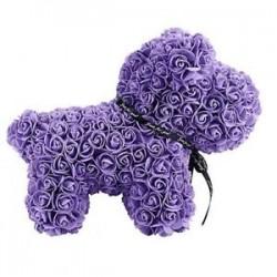lila - Esküvői dekorációk rózsa kutya medve nyúl barátnője évfordulója Chris I5V3
