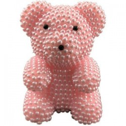 6X (Kreatív ajándékok Valentin-napi kézzel készített habgyöngy-medvekészlethez, Foam Bea E4R1