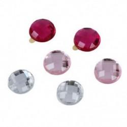 1X (Bling Diamond Crystal Style otthoni gomb matrica az Apple iPod iPhone iP R3Y8 készülékhez