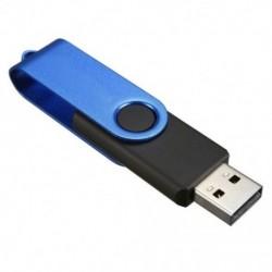 16 GB-os USB 2.0 memóriakártya, elforgatható kék és fekete O7D1 H8N5
