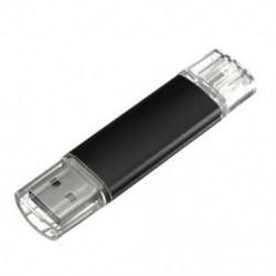 16 GB-os USB memóriakártya OTG mini USB Flash Drive mobil PC fekete C6N2
