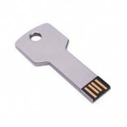8 GB-os fémkulcsú USB 2.0 Flash Drive F1O5
