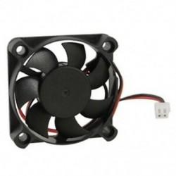 1X (kefe nélküli 50 x 50 x 10 mm DC 12V 5010 7 késes hűtőventilátor O5I8)