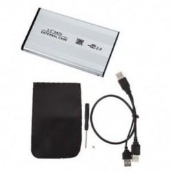 1X (szeminikus 2,5 hüvelykes USB 2.0 SATA merevlemez HDD tok ház L3L9)
