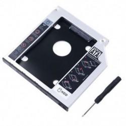 Univerzális SATA 2nd HDD HD SSD ház merevlemez-meghajtó Caddy tok tálca fr 9.5mm V2C6