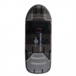SD MiniSD MMC T-Flash kulcs USB 2.0 kártyaolvasó (SD kártya és kártya adapter nem T3D7.)