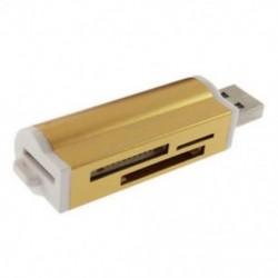 1X (új, mindegyik Mini USB 2.0 Micro-SD Tf M2 Ms T memóriakártya-olvasó adapter U8W3