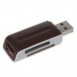 2X (gyors SD SDHC memóriakártya-olvasó író Dongle Pen USB 2.0 Fehér Márka Ne K2V4