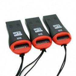 3 x USB 2.0 Micro SD kártya adapter olvasó író SDHC MMC Micro Sd 2528c B9W M4E8