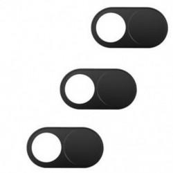Webkamera burkolatok (3 csomag), 0,7 mm-es ultravékony webkamera borító-blokkoló a Mobil E8X5-hez