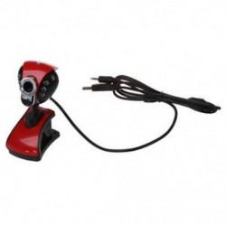USB 6 LED 20.0M webkamera   mikrofon az MSN AOL S6H6 W9Y5 V2J1 készülékhez