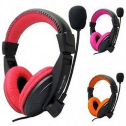 SUOYANA Gaming fejhallgató fülhallgató fejhallgató mikrofonnal a PC Gamer BT-hez