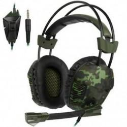 1X (Sades SA921 Plus PS4 játék fülhallgató sztereó PC Gamer játék fejhallgató Y8V9