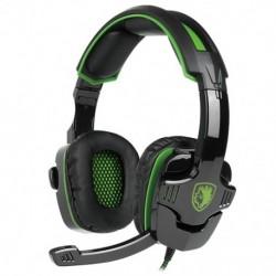 SADES SA-930 sztereó térhatású fejhallgató fejpánt mikrofon fejhallgató A7L1