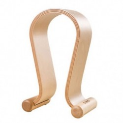 Fából készült fejhallgató-állvány Fejhallgató-tartó fülhallgató fogas, minden Y6V6