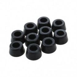 1X (10 db 14 mm x 8 mm-es kúpos süllyesztett gumi lábtartó lökhárítók burkolatai A8D2)