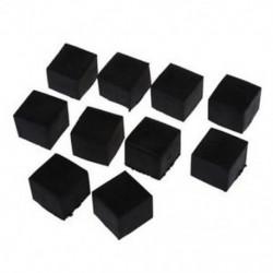10 db gumi 25 mm x 25 mm bútor szék lábak burkolatát védő O3L0