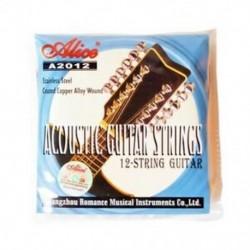 Alice A2012 12 húrok Akusztikus gitár húrok 010-026 Hangszer G I8M8