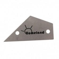 Homeland Fret Rocker rozsdamentes acélkészítők Hangcsillapítók Fret Finder Guitar Lut T8P8