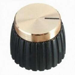 10x gitár AMP erősítő gombok Push-on fekete   arany sapka a Marshall Amplifie J2F2-hez