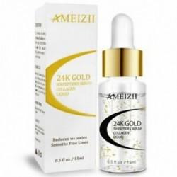 1X (AMEIZII 24K arany hat peptid szérum ránctalanító kollagénfehérítő arc D1G6