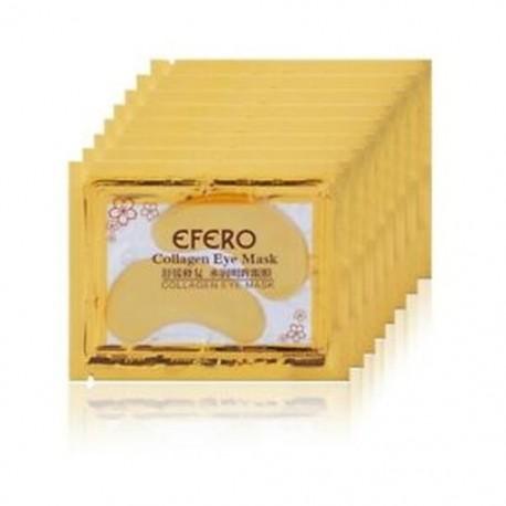 2X (EFERO 5Pack Collagen Gold Eye Mask Eye Patch Face Mask szemfoltok a T X1A6-hoz