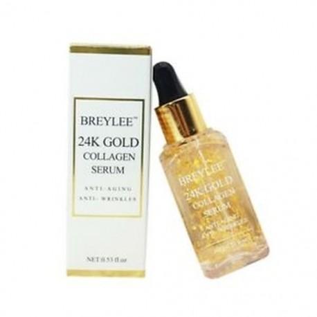 BREYLEE 24 k arany szérum kollagén esszencia öregedésgátló..