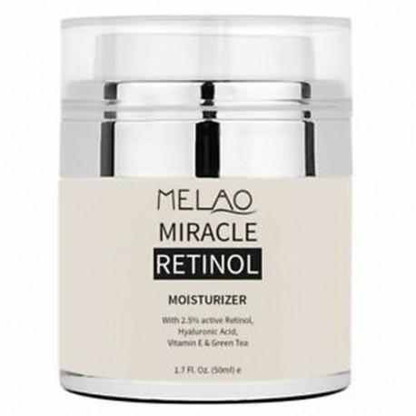 MELAO Retinol hidratáló krém öregedésgátló arcszem környék E-vitamin Facs P1N1