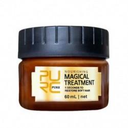 PURC 60ml mágikus keratin hajkezelő maszk 5 másodpercig javítja a D2M9 hajot