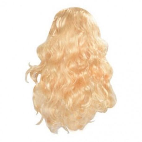 1X (szexi hosszú, göndör hajú paróka, elegáns, hullámos, teljes paróka - szőke Y4B5)