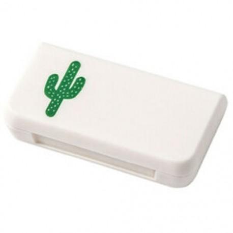 3X (Mini Pill Case hordozható gyógyszerdobozok, 3 rács, utazási otthoni orvosi gyógyszerekZ3F6