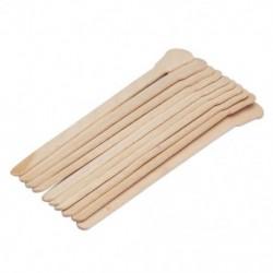 10db fa viaszosító viasz spatula nyelv eldobható bambusz botokkal haj Remova F1V1