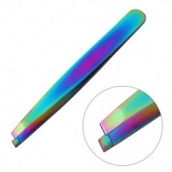 Csipesz rozsdamentes acél hajlapos eltávolító kozmetikai szemöldökcsipesz Beauty B4U5