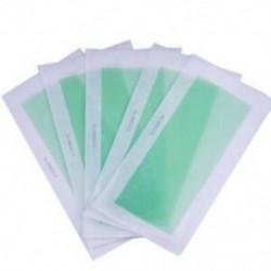 5 db arc testzsír-eltávolító eltávolító szőrtelenítő hideg viaszcsíkok papír Waxin L3W6